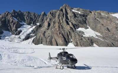 Helikopter Tour am Mount Cook in Neuseeland